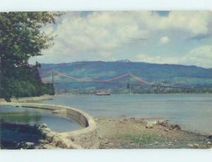 Pre-1980 BRIDGE SCENE Vancouver British Columbia BC H8439