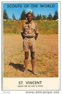 Boy Scouts of the World, ST VINCENT SCOUTS, 1968