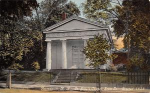 Portsmouth NH~St John's Episcopal Chapel~Destroyed in Fire~State Street~1911 PC