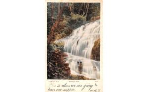 Watauga Falls Delhi, New York Postcard