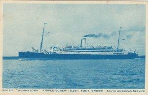 Oceanliner/Steamer/Ship, 20-30s ; R.M.S.P. ALMANZORA