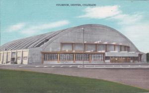 DENVER, Colorado, 30-40s; Coliseum