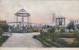 Plaza & Old Church , JUAREZ. , Mexico , PU-1907