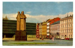 Latvia - Riga. Square of the Latvian Red Riflemen