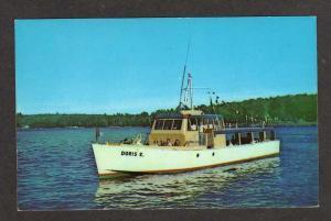NH MV Doris E Boat LAKE WINNIPESAUKEE NEW HAMPSHIRE PC