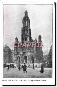 Postcard Collection Old Diary Paris Church of the Trinity