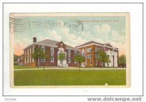 Anderson College, Anderson, South Carolina, PU 1913