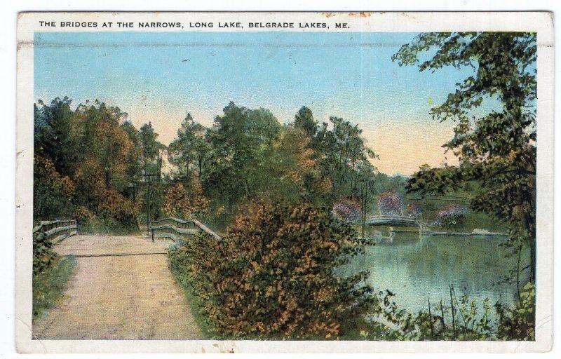 Belgrade Lakes, Me., The Bridges At The Narrows, Long Lake