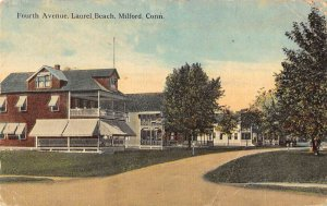 Milford Connecticut Fourth Ave residences in Laurel Beach antique pc ZE686197