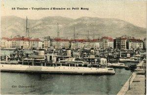 CPA TOULON Torpilleurs d'Escadre au Petit Rang (338054)