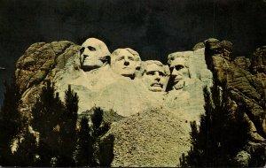 South Dakota Black Hills Mount Rushmore Memorial 1964