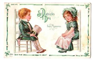 St Patrick's Day, Boy & Girl