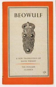 Beowulf David Wright 1957 Book Postcard