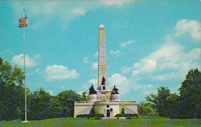 Illinois Springfield Abraham Lincoln Tomb