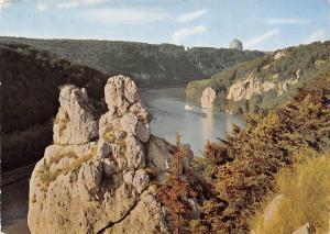 Donaudurchbruch bei Kelheim River Boats Bateaux Panorama