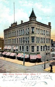 New York Albany The Albany Business College 1907