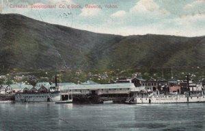 DAWSON , Yukon , Canada , 00-10s ; Canadian Development Co.'s Dock