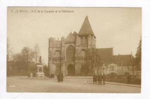 RP: Street Scene / ND de la Couture et la Prefecture,Le Mans,France 1900-10s