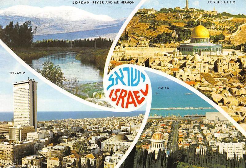 Tel Aviv Jerusalem Karte.Israel Jordan River And Mt Hermon Jerusalem Haifa Tel Aviv
