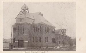 Graded School at Dundee, Yates County NY, New York - UDB