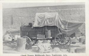 TOMBSTONE , Arizona , 50-60s ; HELLDORADO DAYS , CHUCK WAGON