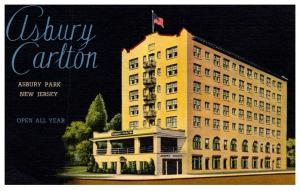 New Jersey  Asbury Park , Ashbury Carlton Hotel