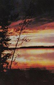 THOMPSON , Manitoba, 50-60s; Sunset