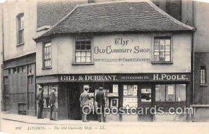 Old Curiosity Shop London Unused