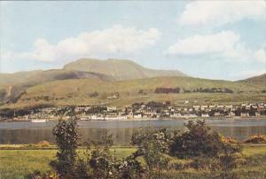 Scotland Ardgour Fort William and Ben Nevis From Trislaig