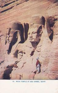 Rock Temple at Abu Simbel, Egypt - DB