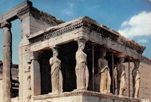 Greece Athens The Caryatids Les Caryatides