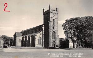 uk14462 st michaels parish church linlithgow  scotland real photo uk