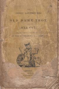 The Comic Adventures Of Old Dame Trot & Her Cat 1820 Victorian Book