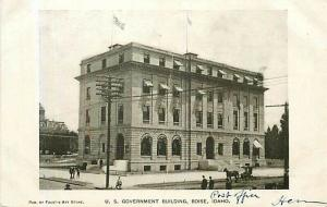 ID, Boise, Idaho, U.S. Government Building, Undivided back, Faust's Art Store