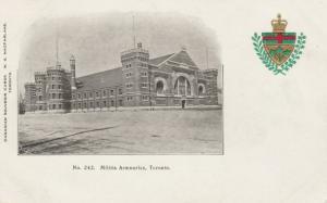 TORONTO (Ontario), 1901-07; Armouries #4