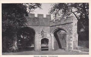 Deanery Gateway, Peterborough (Cambridgeshire), England, UK, 1900-1910s
