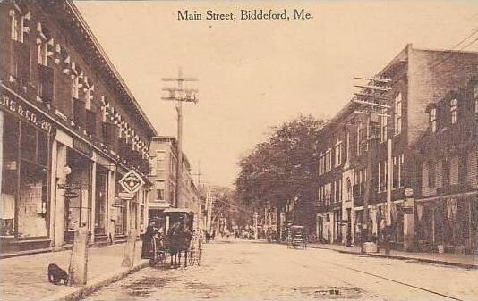 Maine Biddeford Main Street