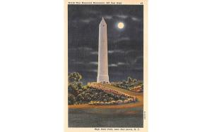 World War Memorial Monument Port Jervis, New York Postcard