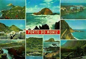 Portugal Madeira Porto do Moniz Bridge Road Sea Panorama Postcard