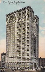 Dime Savings Bank Building, Detroit, Michigan, PU-1914