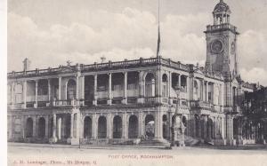 Post Office Rockhampton Queensland Australia Postcard