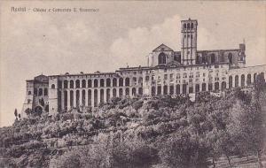 Italy Assisi Perugia Chiesa E Convento Saint Francesco