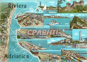 Postcard Modern Rivera Adriatica