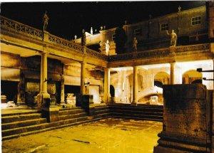 Postcard Somerset Bath The Great Roman Bath