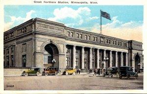 Minnesota Minneapolis Great Northern Station