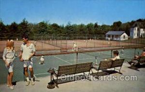 The Concord Hotel, Kiamesha Lake, Monticello, N.Y., USA Tennis, Old Vintage A...