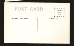 US Navy Grumman Panther Jet Fighter Black & White Vintage Postcard Unposted