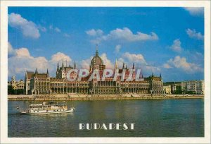 Modern Postcard Greetings from Budapest