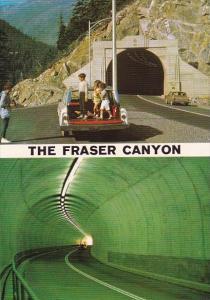 Canada China Bar Tunnel The Fraser Canyon British Columbia