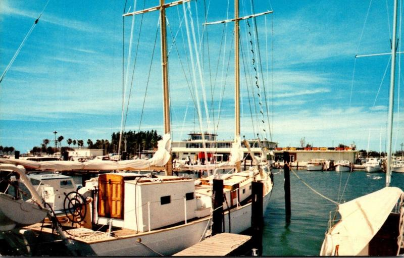 Florida Clearwater Beach Yacht Basin